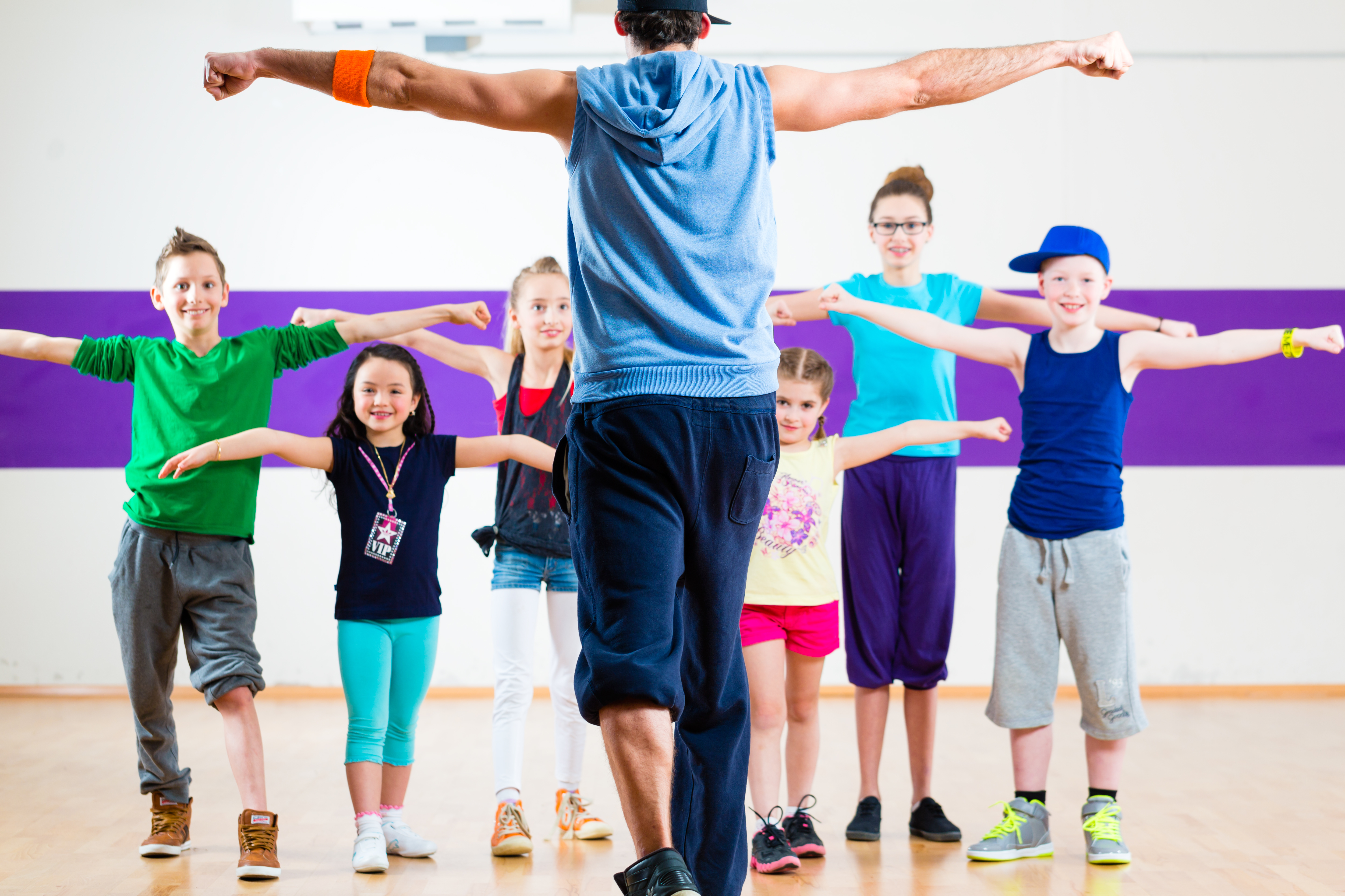How to learn to dance to children
